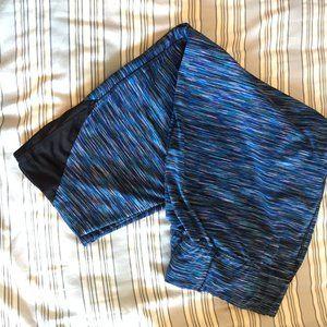 Pants & Jumpsuits - 🌸 Plus Size - Blue Yoga pants, Capri